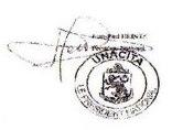 timbre et signature